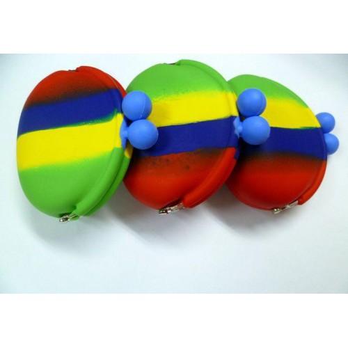 韩版可爱糖果色 硅胶零钱包 创意硅胶小包包小钱包小额定做产家 促销活动 礼品