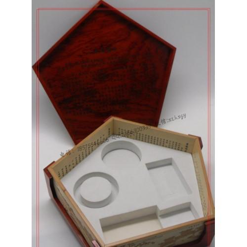 蓝田玉礼盒包装 蓝田玉木盒包装批量生产