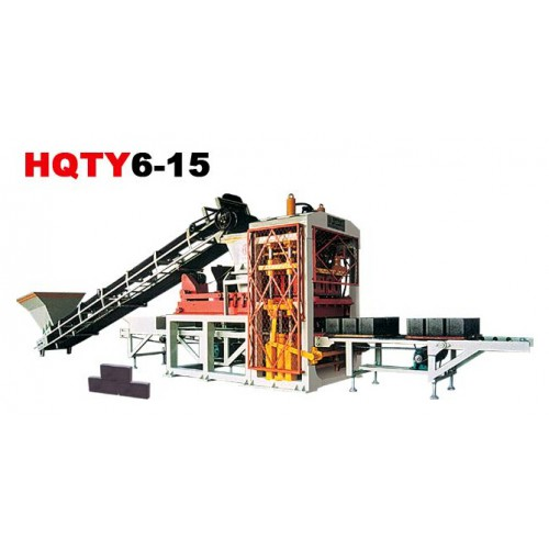QTY6-15型全自动标砖砌块成型机 云南空心砖砌块成型机设