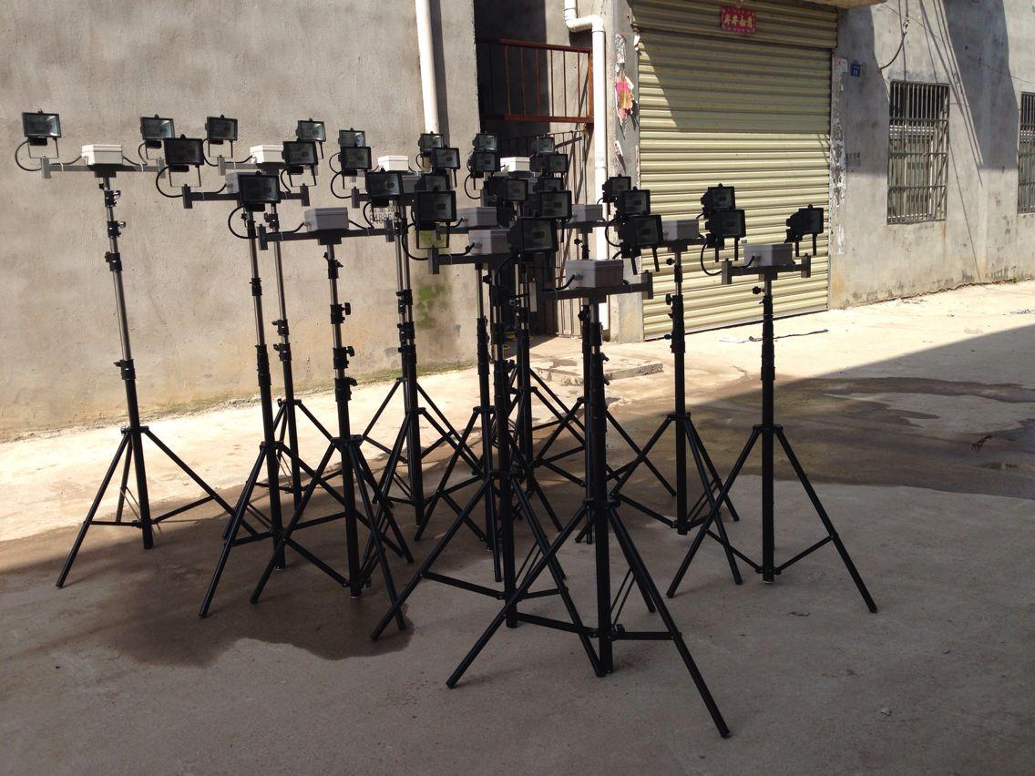 便携式支架泛光灯丨三角支架升降工作灯