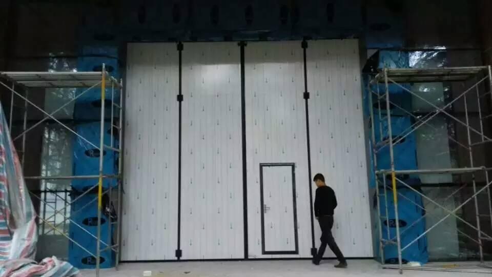 工业门提升安装